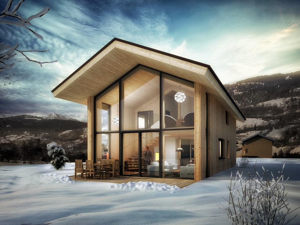 kreischberg chalets vrijstaande chalets te koop in een top skigebied. Black Bedroom Furniture Sets. Home Design Ideas