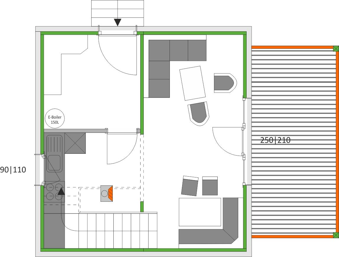 vrijstaand chalet direct aan de skiliften van kreischberg my next home. Black Bedroom Furniture Sets. Home Design Ideas